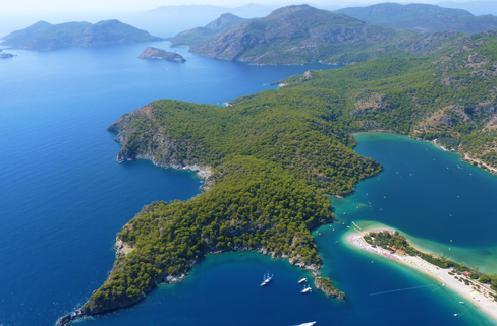 جاذبه های توریستی کشور ترکیه